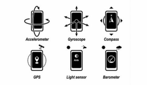 Smartphone et les capteurs